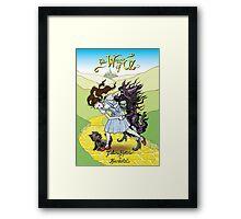 Whizzer of Oz Framed Print