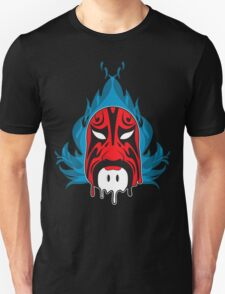 Mask - Blue Flame II T-Shirt