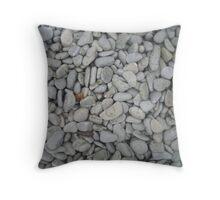 Pebble Paradise Throw Pillow