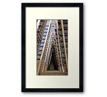 Downstairs Framed Print