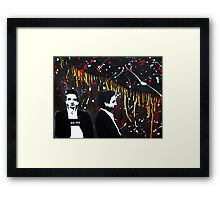Cash Problems Framed Print