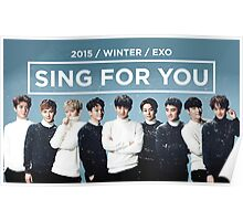 EXO 'Sing For You' Winter Day Edition Poster