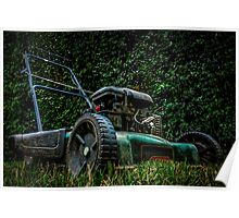 the lawnmower  Poster