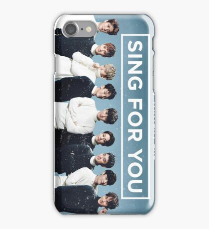 EXO 'Sing For You' Winter Day Edition iPhone Case/Skin