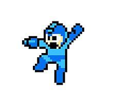 Mega Man 8-Bit HD Photographic Print