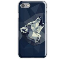 POLY : Wolf Howl iPhone Case/Skin