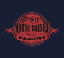 Mount Rainier National Park, Washington One Piece - Long Sleeve