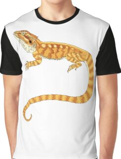 bearded dragon watercolour  Graphic T-Shirt