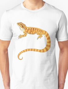 bearded dragon watercolour  T-Shirt