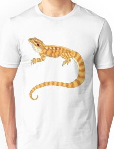 bearded dragon watercolour  Unisex T-Shirt