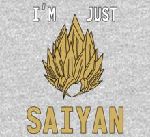 I'm Just Saiyan - Original Kids Clothes
