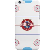 Montreal Hockey Case, Cards and Notebooks iPhone Case/Skin