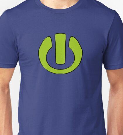 Power Button (James Tee) Unisex T-Shirt