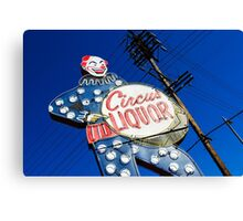 clowning around Canvas Print