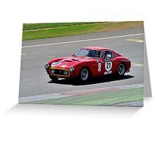 Ferrari 250 SWB No 21 Greeting Card