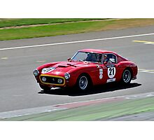 Ferrari 250 SWB No 21 Photographic Print