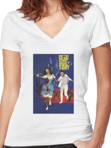 Dead Side Story Women's Fitted V-Neck T-Shirt