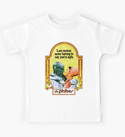 Abominable Dr. Phibes - Love  Kids Tee
