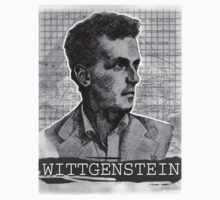 Wittgenstein Original Artwork by Steven Shaffer