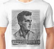 Wittgenstein Original Artwork Unisex T-Shirt