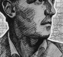 Wittgenstein Original Artwork Sticker