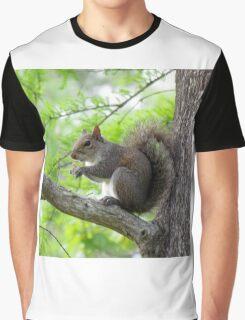 Squirrel Sitting Very Still Graphic T-Shirt