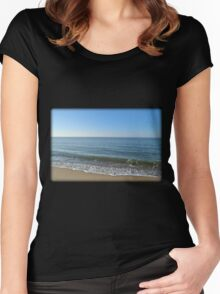 Waves Of Emotion Women's Fitted Scoop T-Shirt