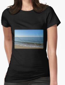 Waves Of Emotion Womens Fitted T-Shirt