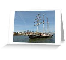 Thames Tall Ships 1.9.13 Greeting Card