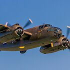 B-25J Mitchell 42-32511 PH-XXV 'Sarinah' lowdown by Colin Smedley