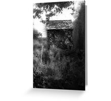 The witch house. Greeting Card