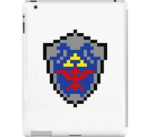 Hylian Shield 8-bit iPad Case/Skin