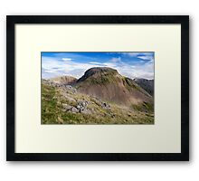 Great Gable, Lake District National Park Framed Print