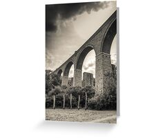 Penryn viaduct Greeting Card