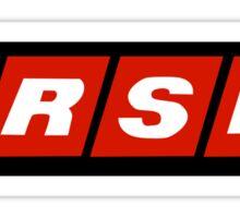 Racing Sports Network - Cars  Sticker