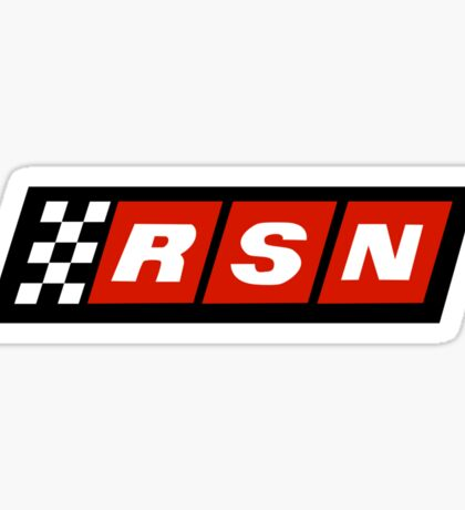 Racing Sports Network - Cars  Sticker