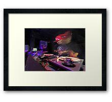 Shape Shifting Through Music. Framed Print