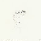 (Night) & Nap Drawings 180 - 24th August - made eyes closed by Pascale Baud