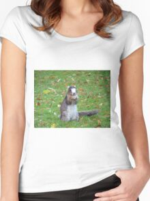 Fox Squirrel Women's Fitted Scoop T-Shirt