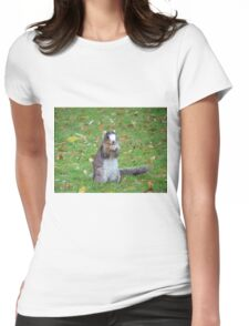 Fox Squirrel Womens Fitted T-Shirt