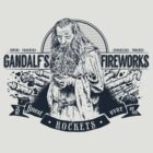Gandalf's Fireworks -Dark- by Azafran