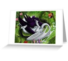 The Dragon Twin's Spring Treat Greeting Card
