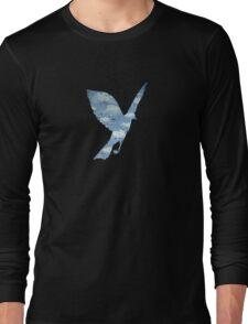 Surrealist Bird Long Sleeve T-Shirt