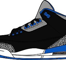 J3 Sports Blue by tee4daily