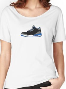 J3 Sports Blue Women's Relaxed Fit T-Shirt