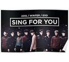 EXO 'Sing For You' Winter Night Edition Poster