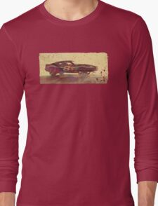 Vintage Look AMC Javelin Trans-Am Pony Car Long Sleeve T-Shirt