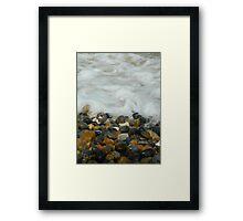 Pebbles & Stones - Cley Beach  Framed Print
