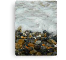 Pebbles & Stones - Cley Beach  Canvas Print