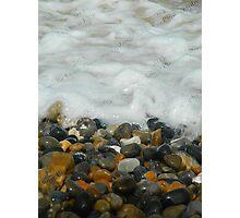 Pebbles & Stones - Cley Beach  Photographic Print
